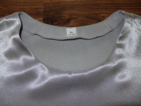 strieborný top, XL
