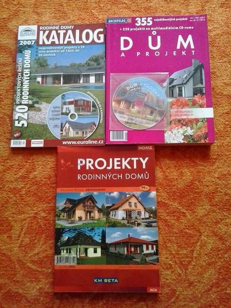 Katalogy domů,