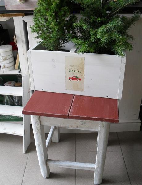 Shabby stolček.,