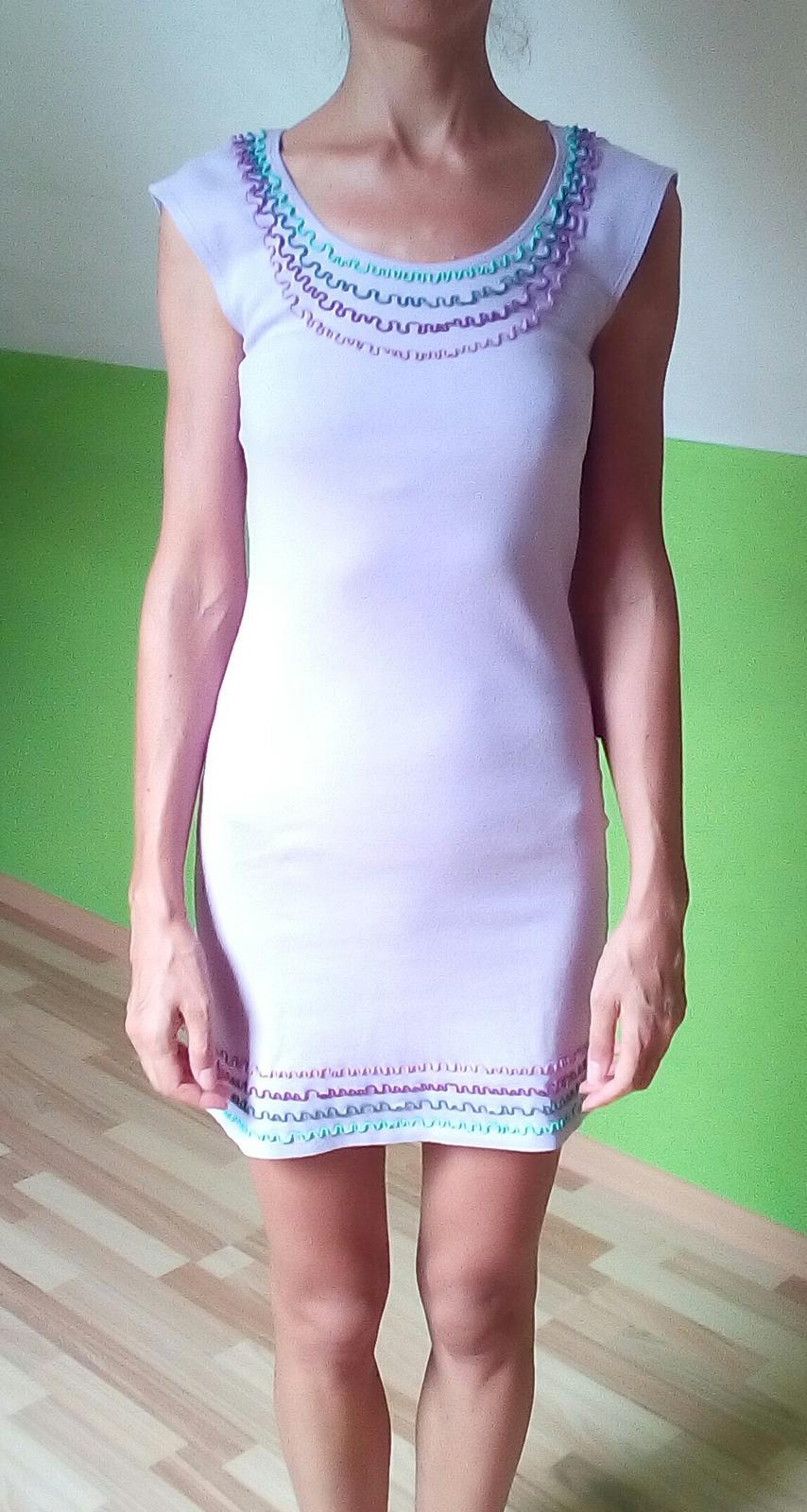ef2f874fdcf0 Svetlofialové šaty jarosa