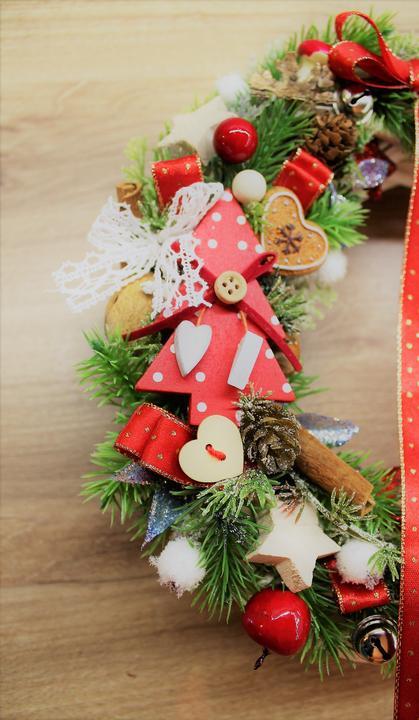 Vianočný veniec,