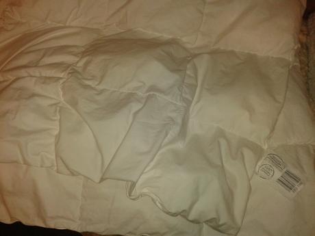 Biela perina 100x135 cm,