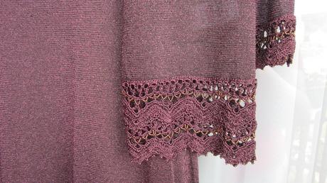 Puzdrové šaty + svetrík sviatočné, 40