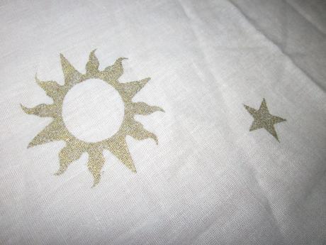 Záves s hviezdami ,