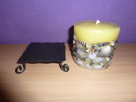 Sviečka + stojan,