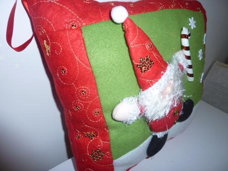 Vianočný vankúš,