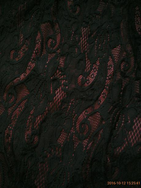 Amisu čipkové šaty, S