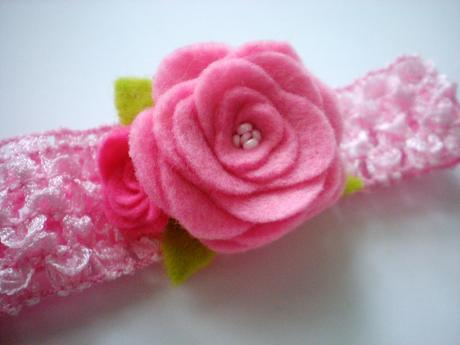 Čelenky pre bábätká- marhuľová a ružová,