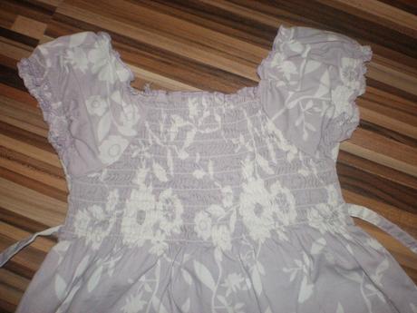 Fialové šaty 98/104, 98