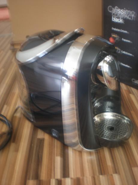 Kávovar Tchibo Caffisimo Compact Black,