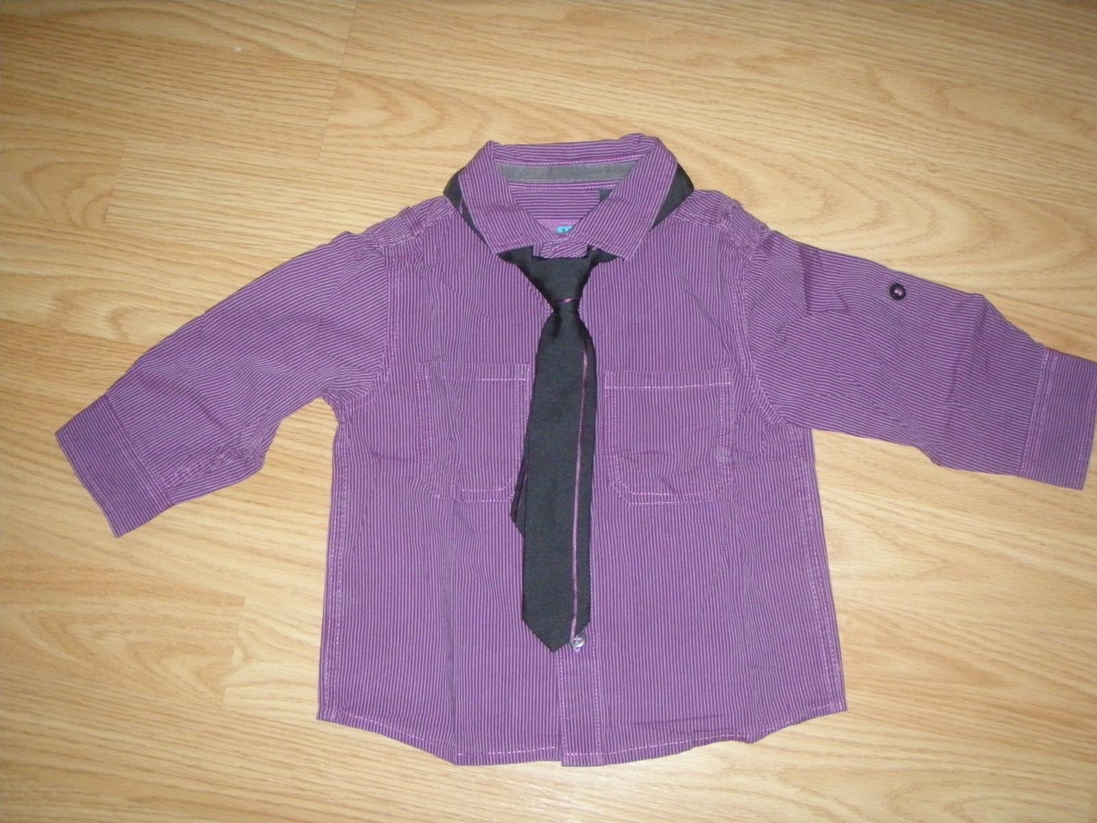 493d36095fcc Košeľa s kravatou