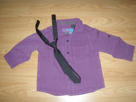 Košeľa s kravatou, 80