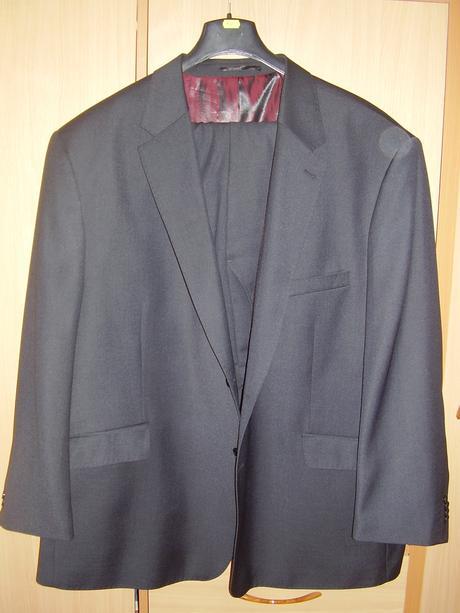 Pánsky oblek veľ 68, 64