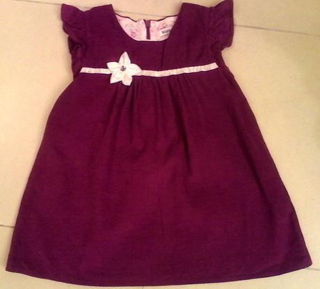 Detske fialove elegantne saticky na 2 roky, 98