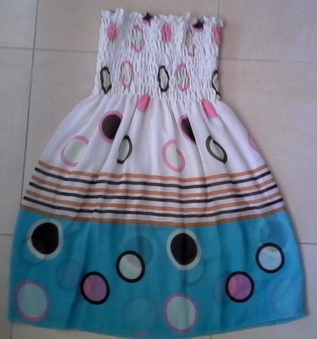 Dievčenské šaty - univerzálna veľkosť, 122