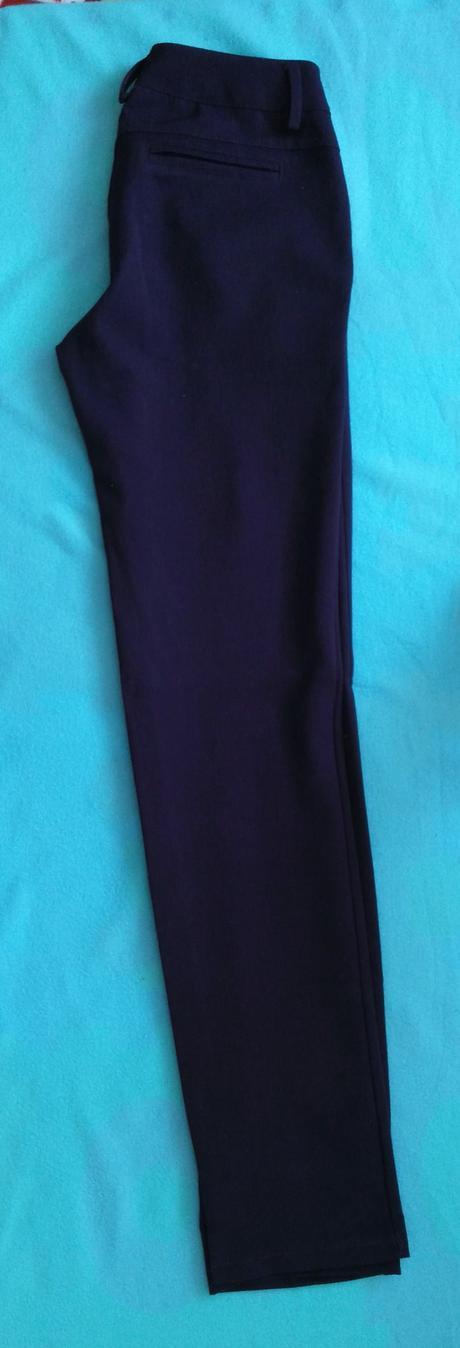 Fialove elegantne nohavice 36 (S), 36