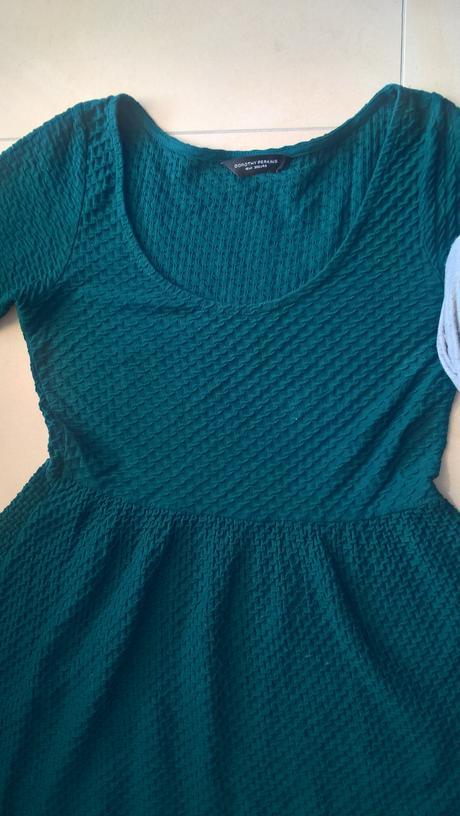 tmavozelené elegantné šaty č. 38, 38