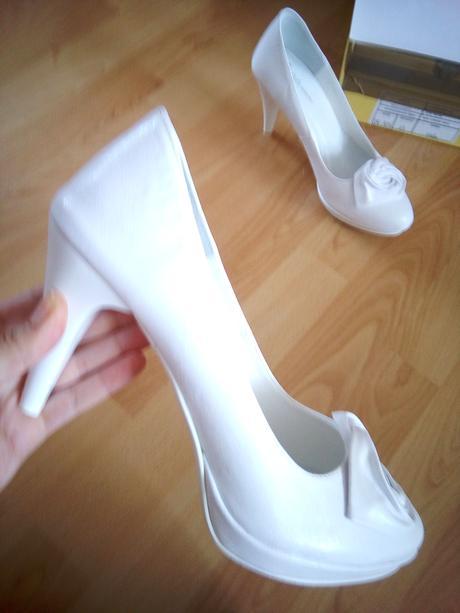 Biele svadobné lodičky, 37