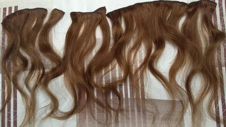 Sada klipov do vlasov z pravých ľudských vlasov,