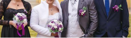 Set svatebních květin - 5kusů,