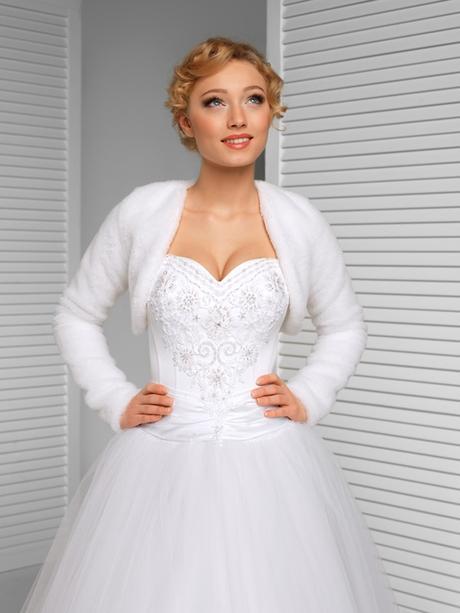 svadobné bolerko, svadobný kožúšok, kabátik,