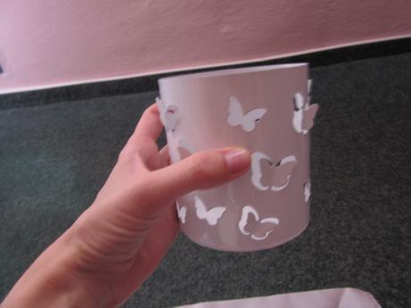 Lucernička s motýlky,