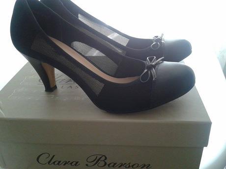 čierne lodičky Clara Barson, 38