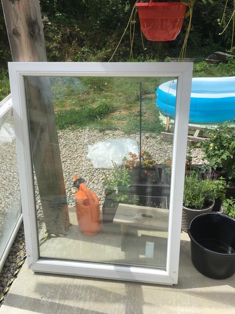 Plastové okno veľké ,