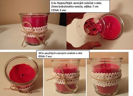 Sviečky a svietniky,