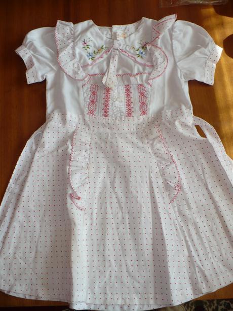 Bodkované šaty - 104 , 104