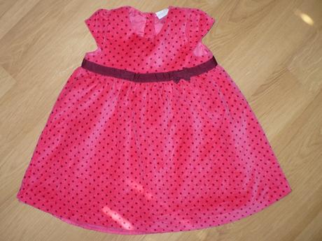 Červené šatičky Mini club, 86