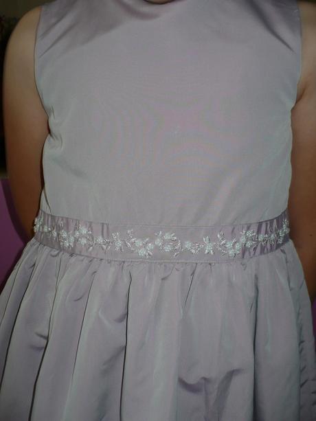 Krásne fialkavé šatičky - H&M, 128-134, 134