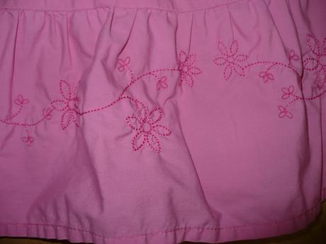 ružové šatočky s motýlikmi, 134