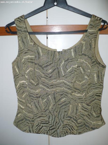Zelené korzetové šaty - 38, 38