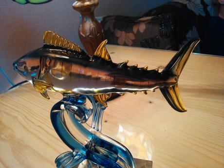 Sklenená rybička,