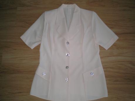 Broskyňový kostým - 3x oblečený, 42