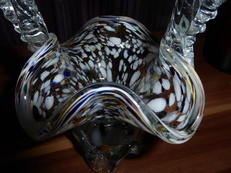 Dekoračné sklenené vázy,