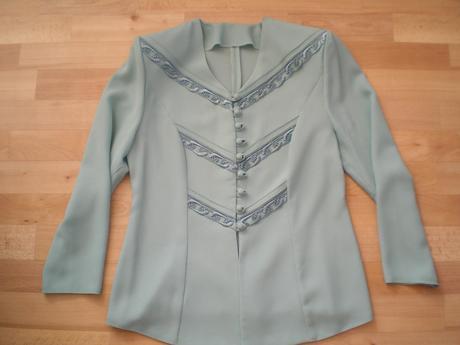 Kostým - Sako + sukňa - 2x oblečený, L