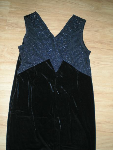Nenosené dlhé šaty+bolerko-na ples, svadbu a pod., 42