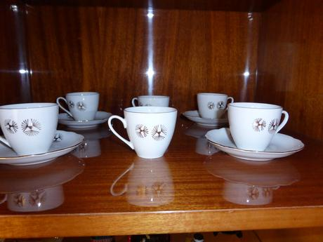 Porcelánová kávová súprava - Bohemia,