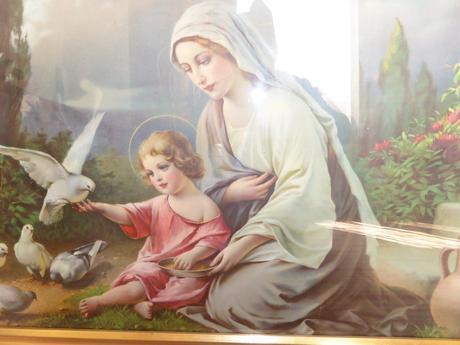 Svätý obraz 127x60cm,