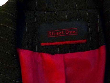 Tmavošedé sako značky Street One, 42