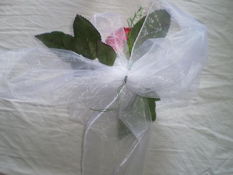 Mašľa s ružou,