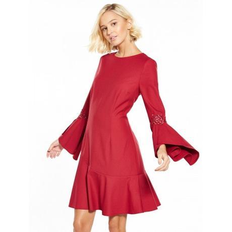 Little Mistress - Volánkové šaty, vel. 40 , 40