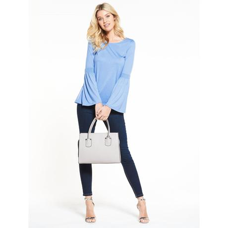 Top Chambray Blue, V by Very, 38