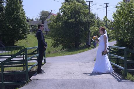 čipkované svadobné šaty , 38