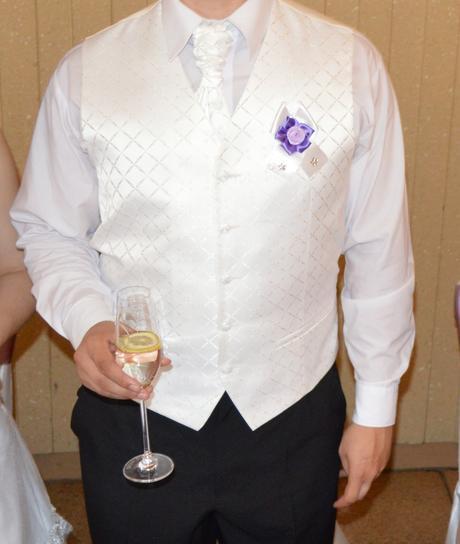 Svadobná vesta-pánska - 52, 52