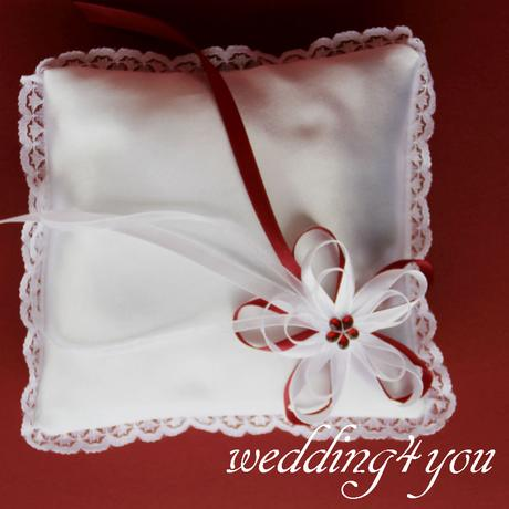 Bordó svatební sada,