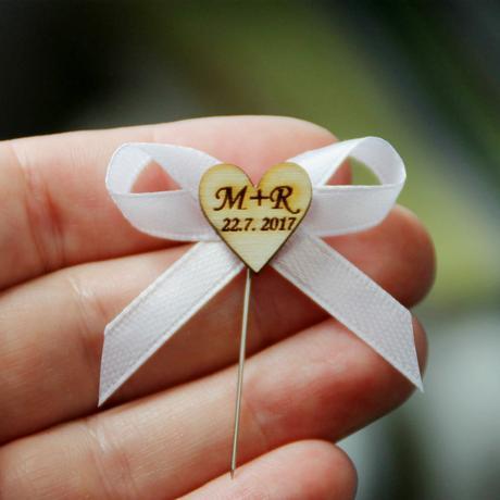 Svatební mašlička,