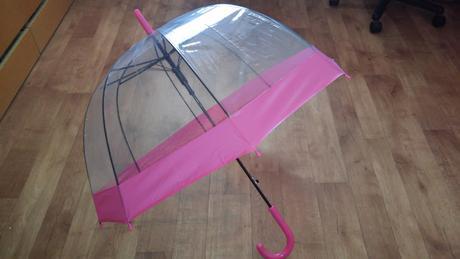 Deštník pro růžovou svatbu,